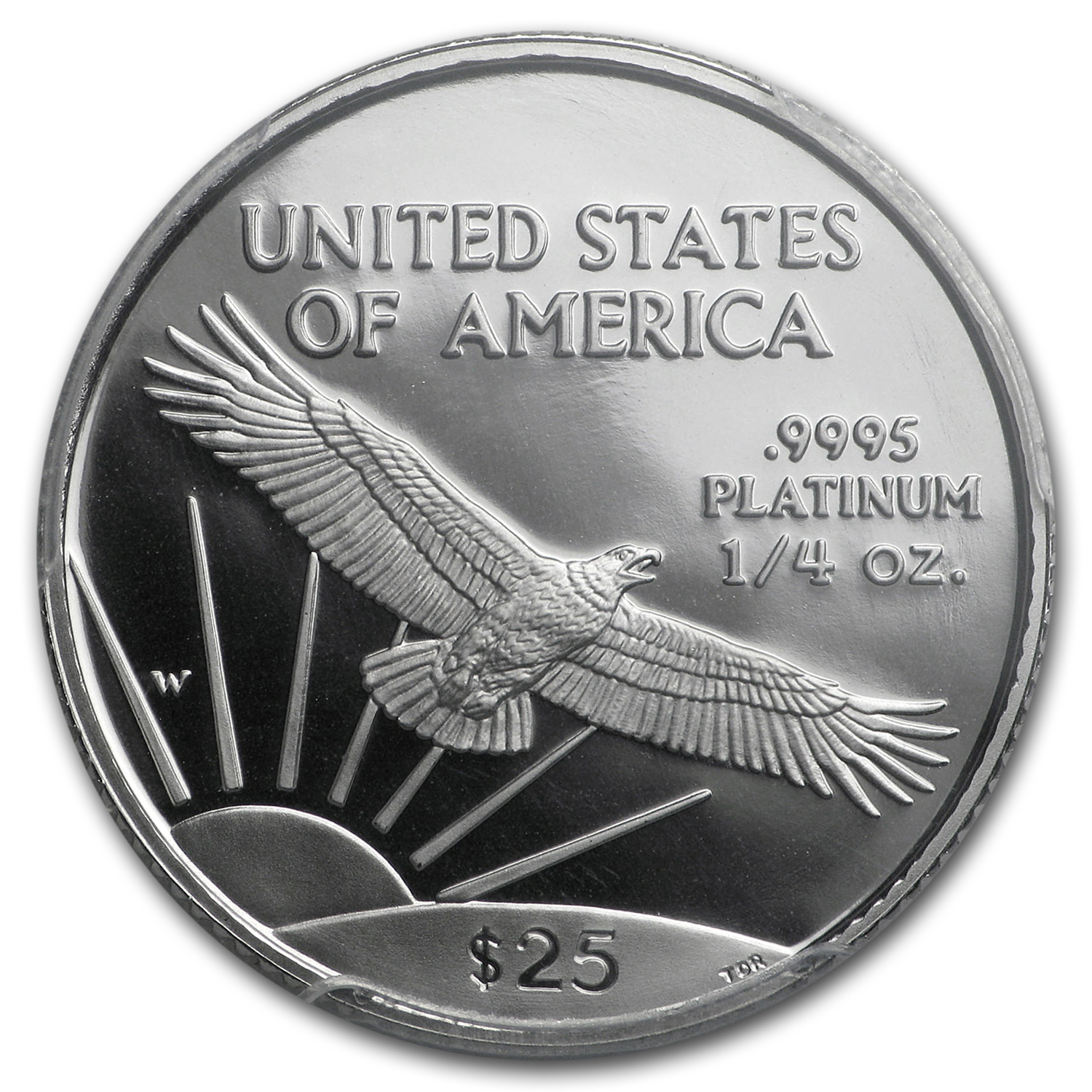 1997-W 1/4 oz Proof Platinum American Eagle PR-70 PCGS
