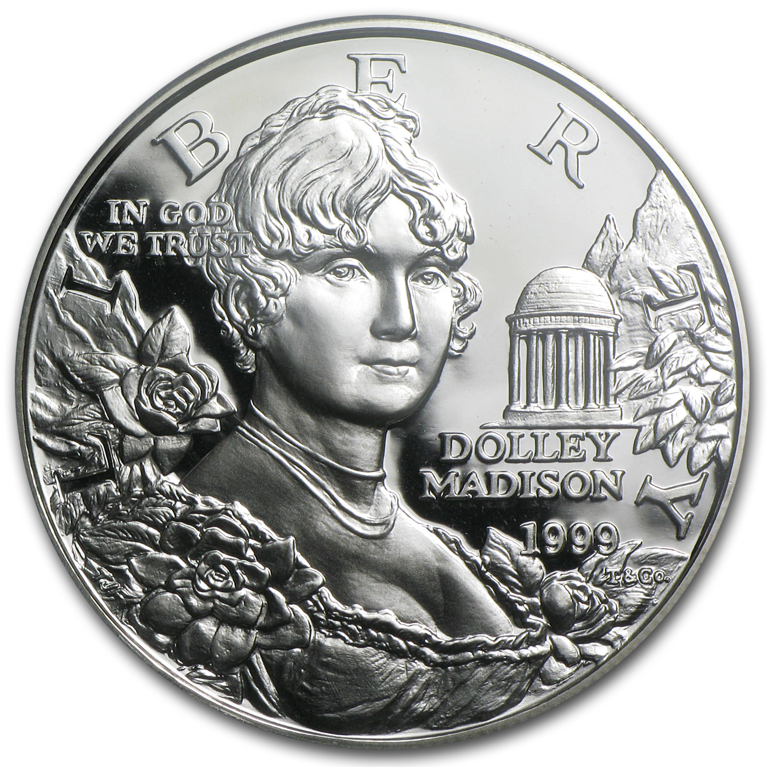 1999-P Dolley Madison $1 Silver Commemorative PR-70 PCGS