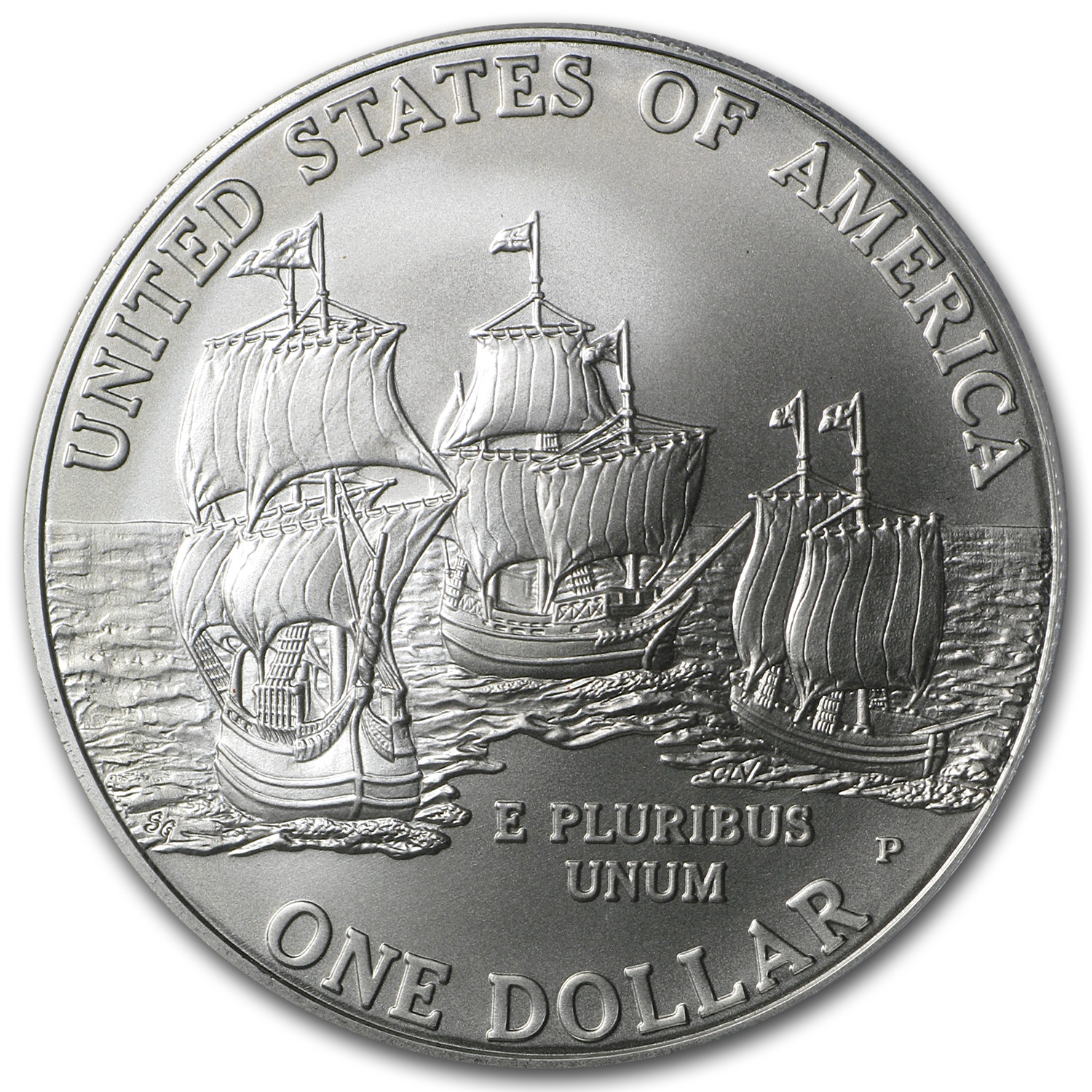 2007-P Jamestown 400th Anniv. $1 Silver Commemorative MS-70 PCGS