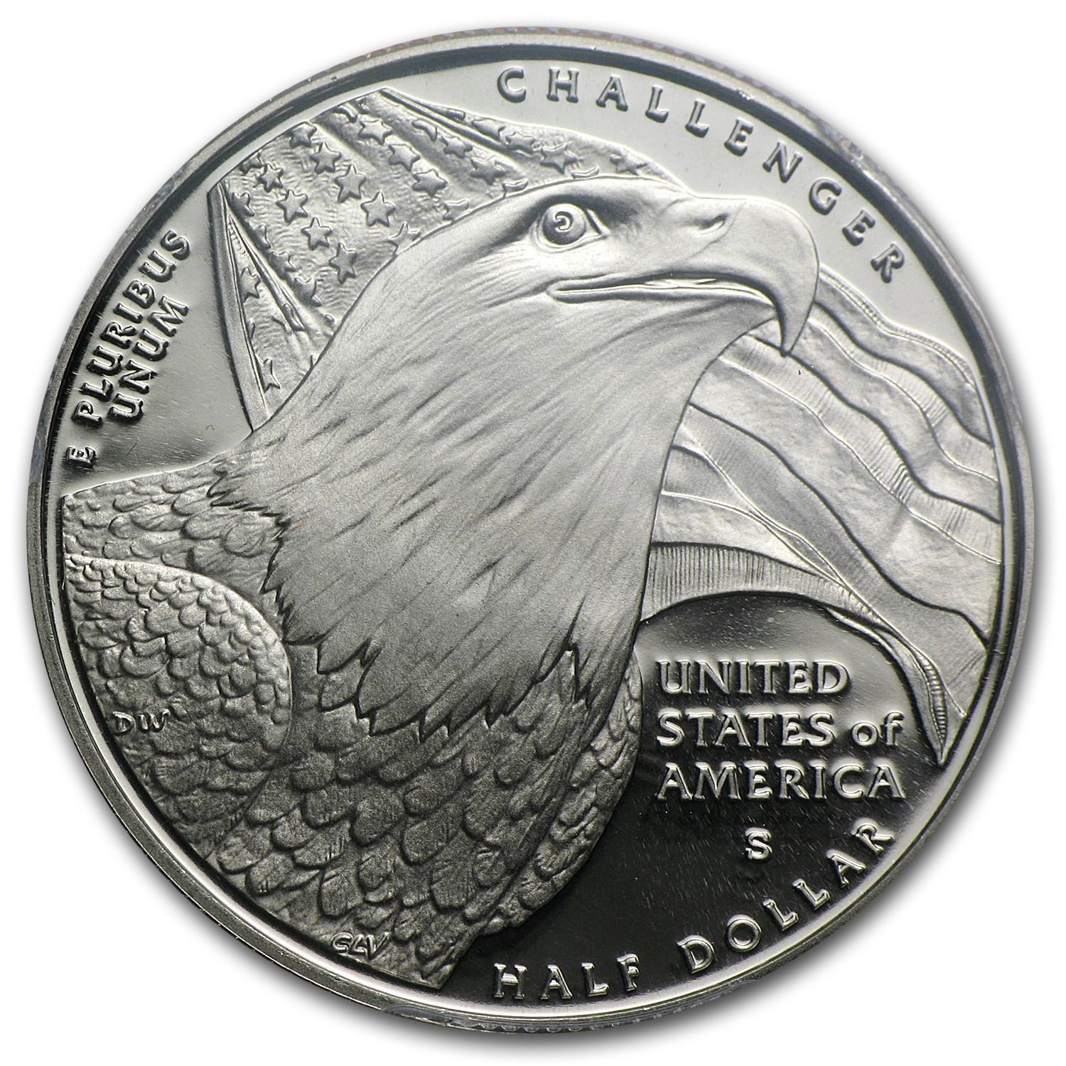 2008-S Bald Eagle Half Dollar Clad Commem PR-70 PCGS
