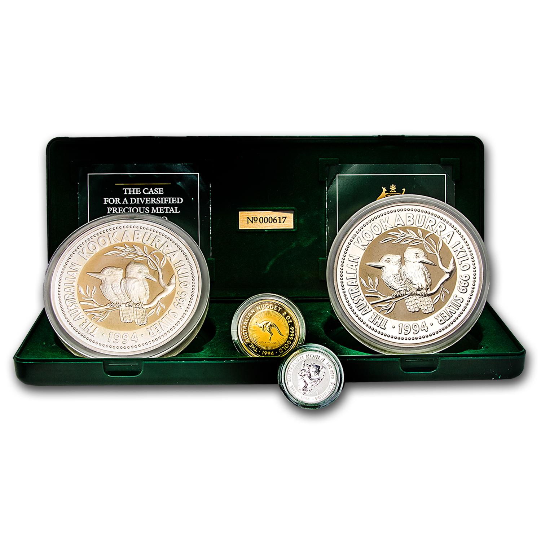 Gold Australian Platinum: 1994 Australia Diversified Precious Metal Portfolio Set