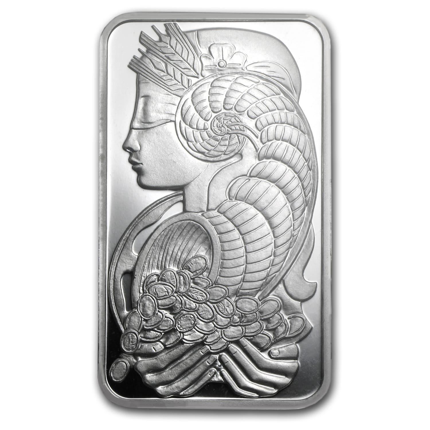 1 oz Silver Bar - PAMP Suisse (Fortuna)