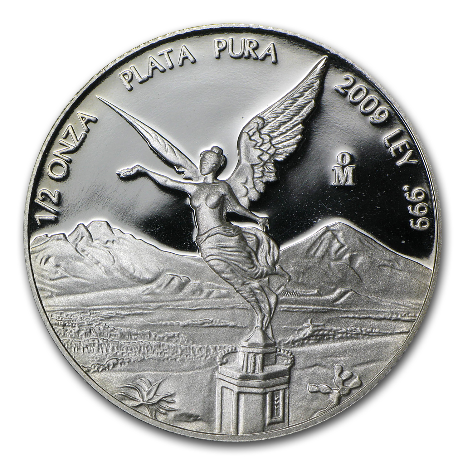 2009 Mexico 1/2 oz Silver Libertad Proof (In Capsule)