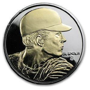 1.5 oz Silver Rounds - Cal Ripken Jr.