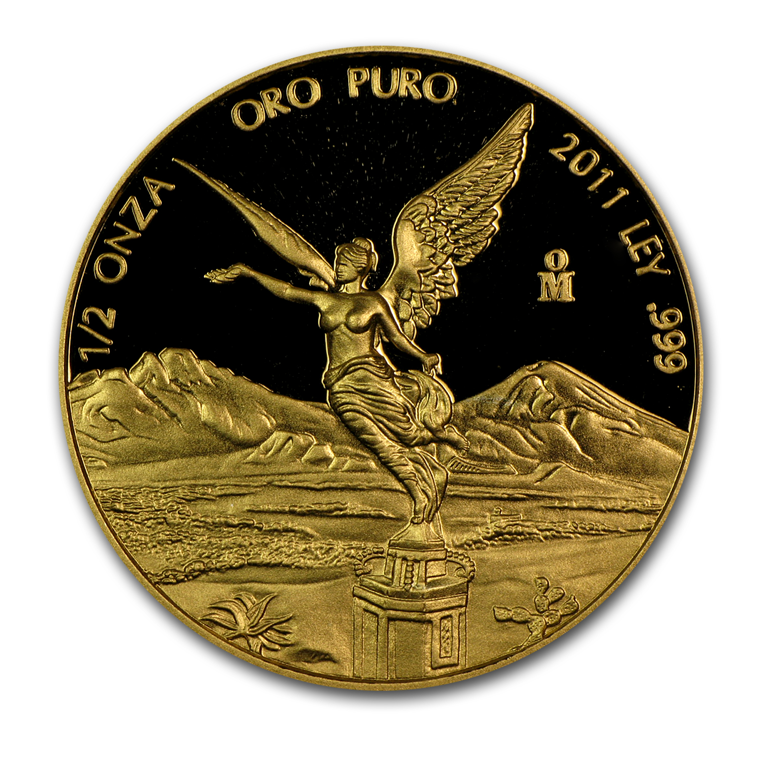2011 Mexico 1/2 oz Proof Gold Libertad