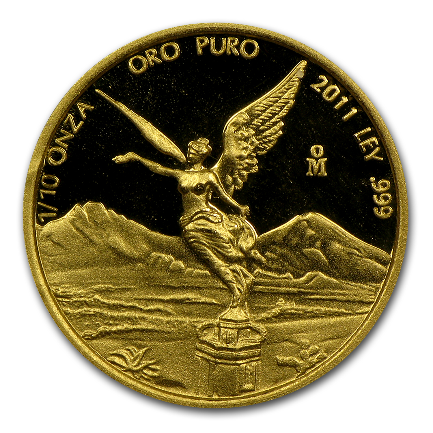 2011 1/10 oz Gold Mexican Libertad - Proof