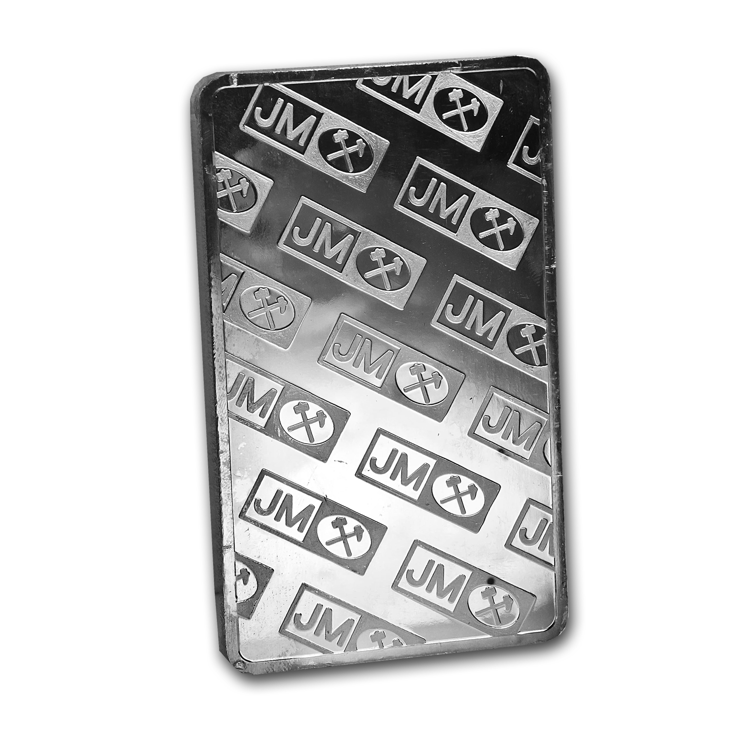 1/2 Kilo Silver Bars - Johnson Matthey (Pressed)