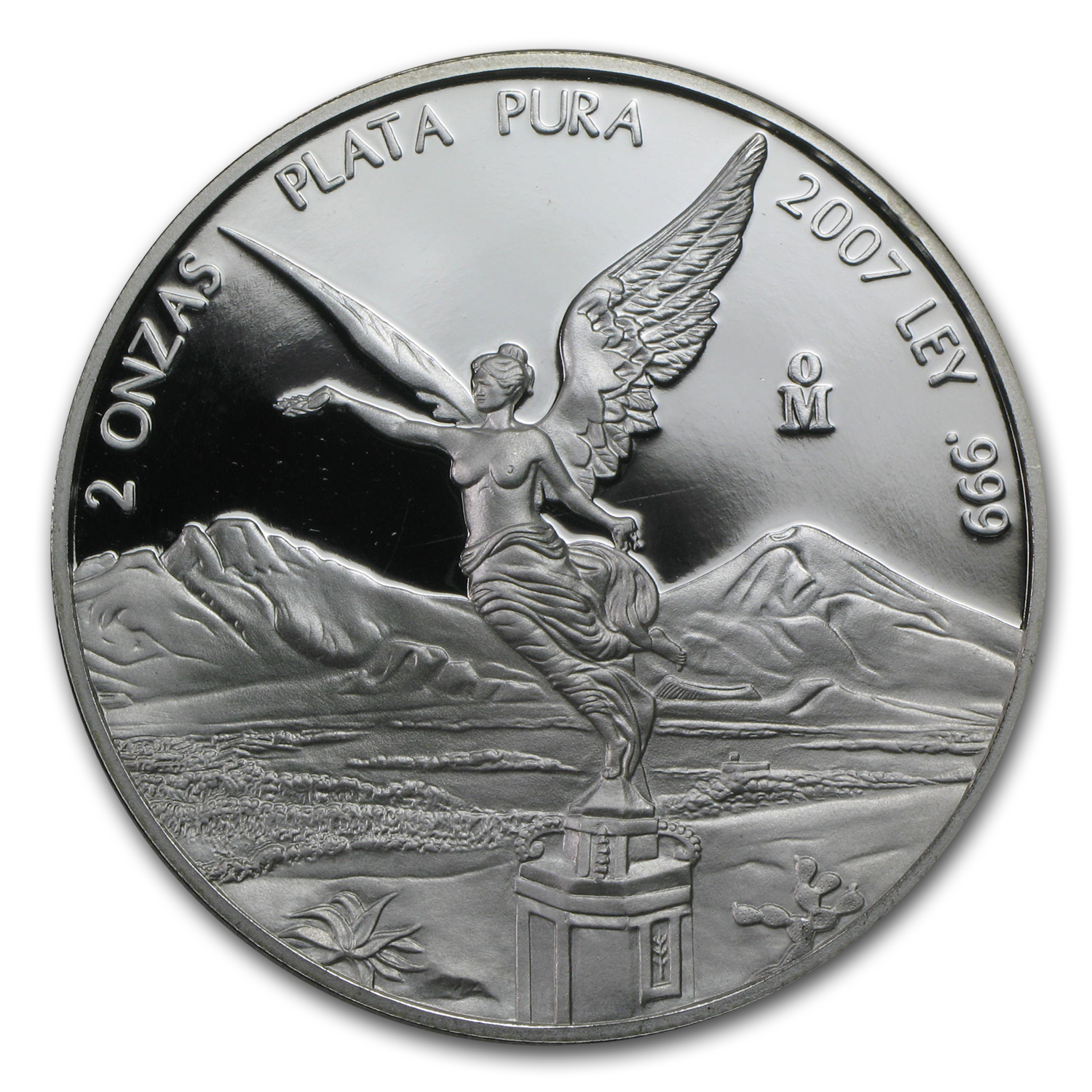 2007 2 oz Silver Mexican Libertad - Proof