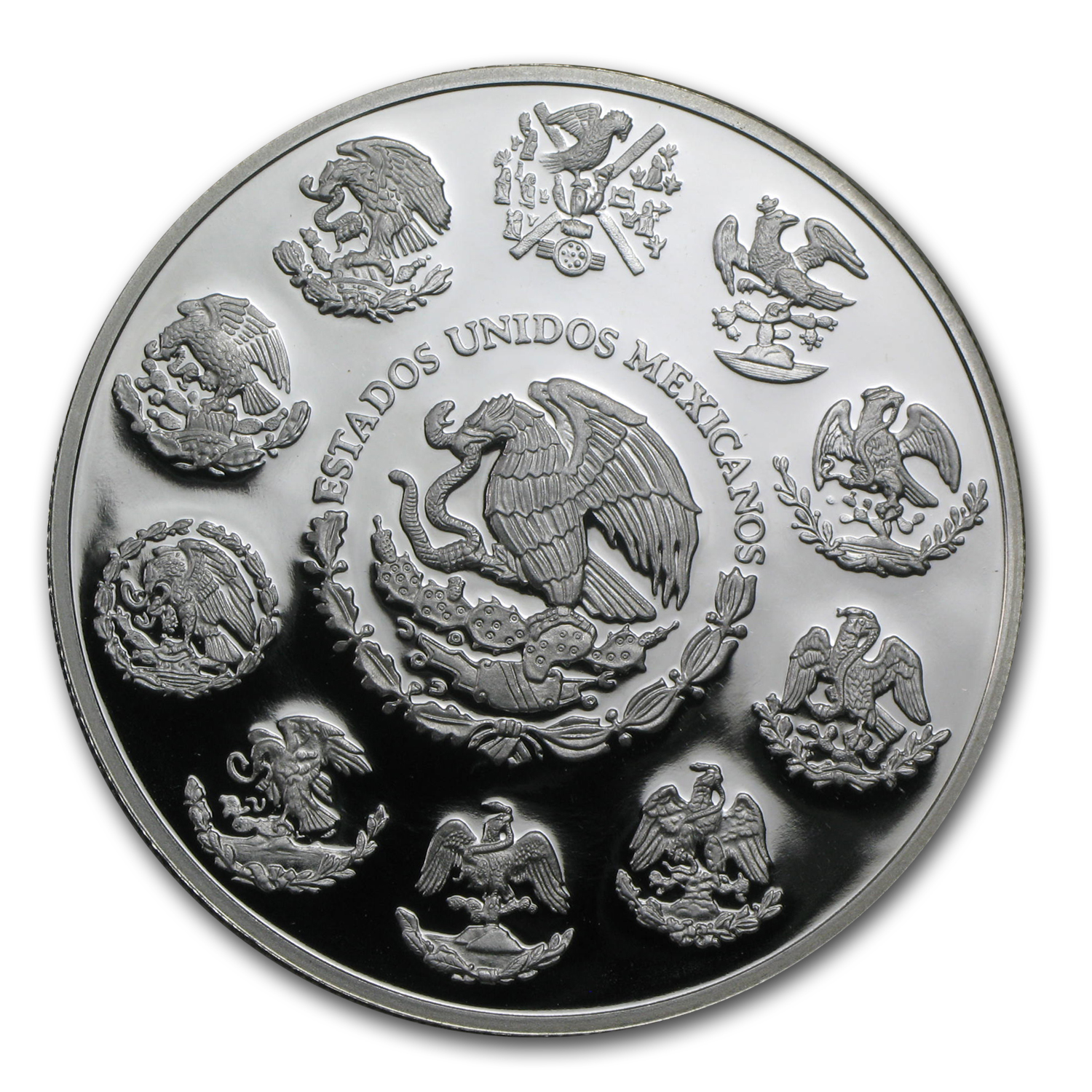 2007 Mexico 2 oz Silver Libertad Proof