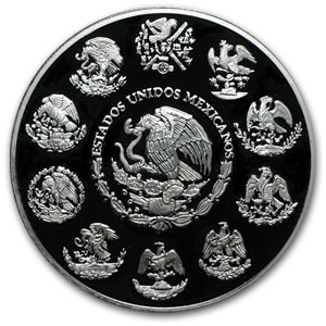 2005 Mexico 2 oz Silver Libertad Proof (In Capsule)