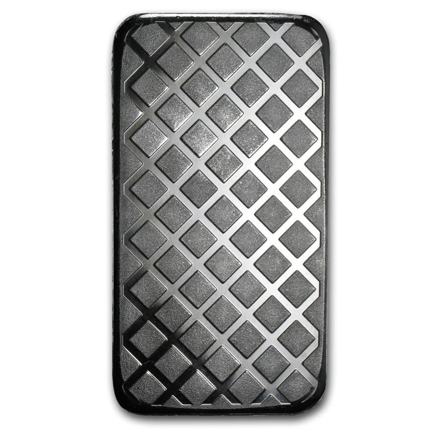 5 oz Silver Bars - Morgan Design