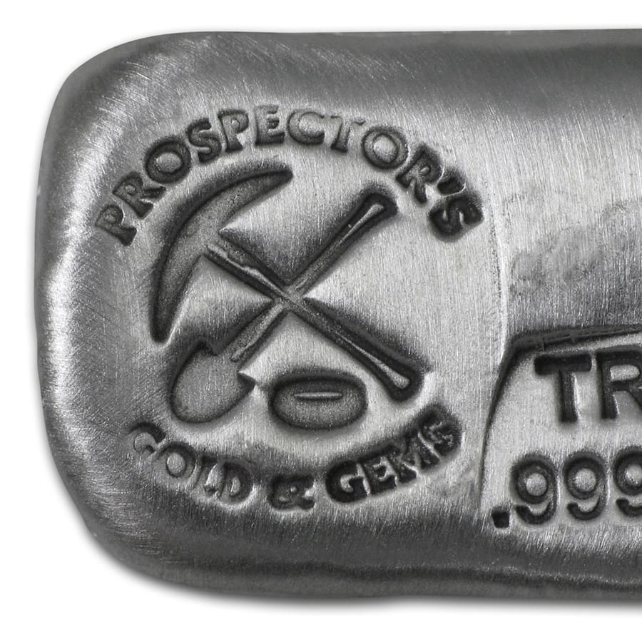 1 oz Silver Bar - Prospector's Gold & Gems