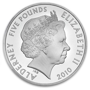 2010 Alderney 1 oz Silver Royal Engagement - Proof
