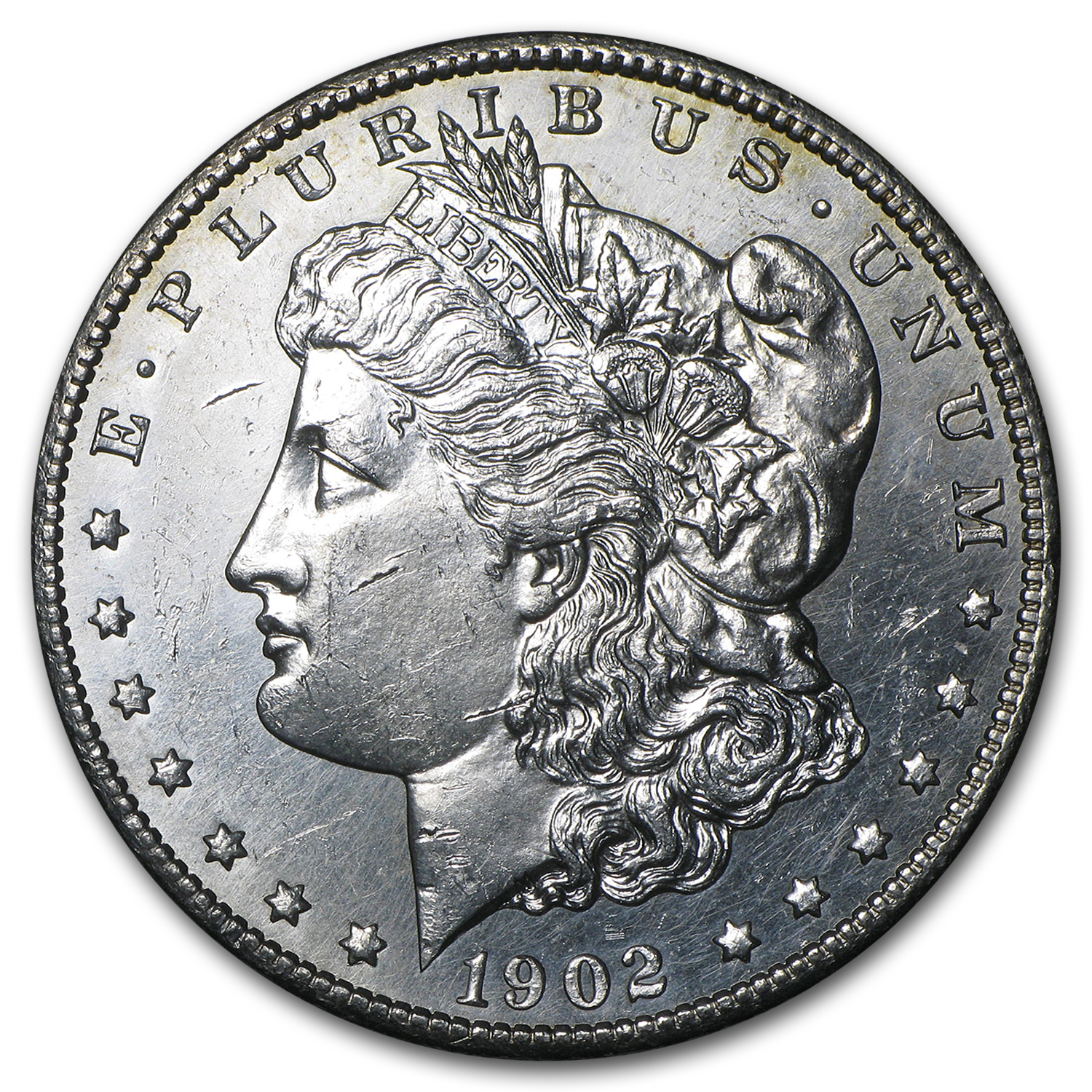 1902-S Morgan Dollar BU