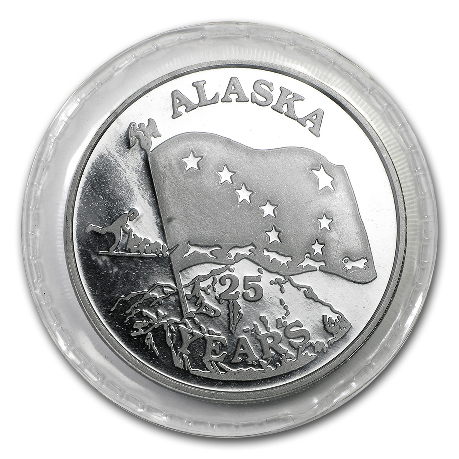 1 oz Silver Rounds - Johnson Matthey (Alaska)