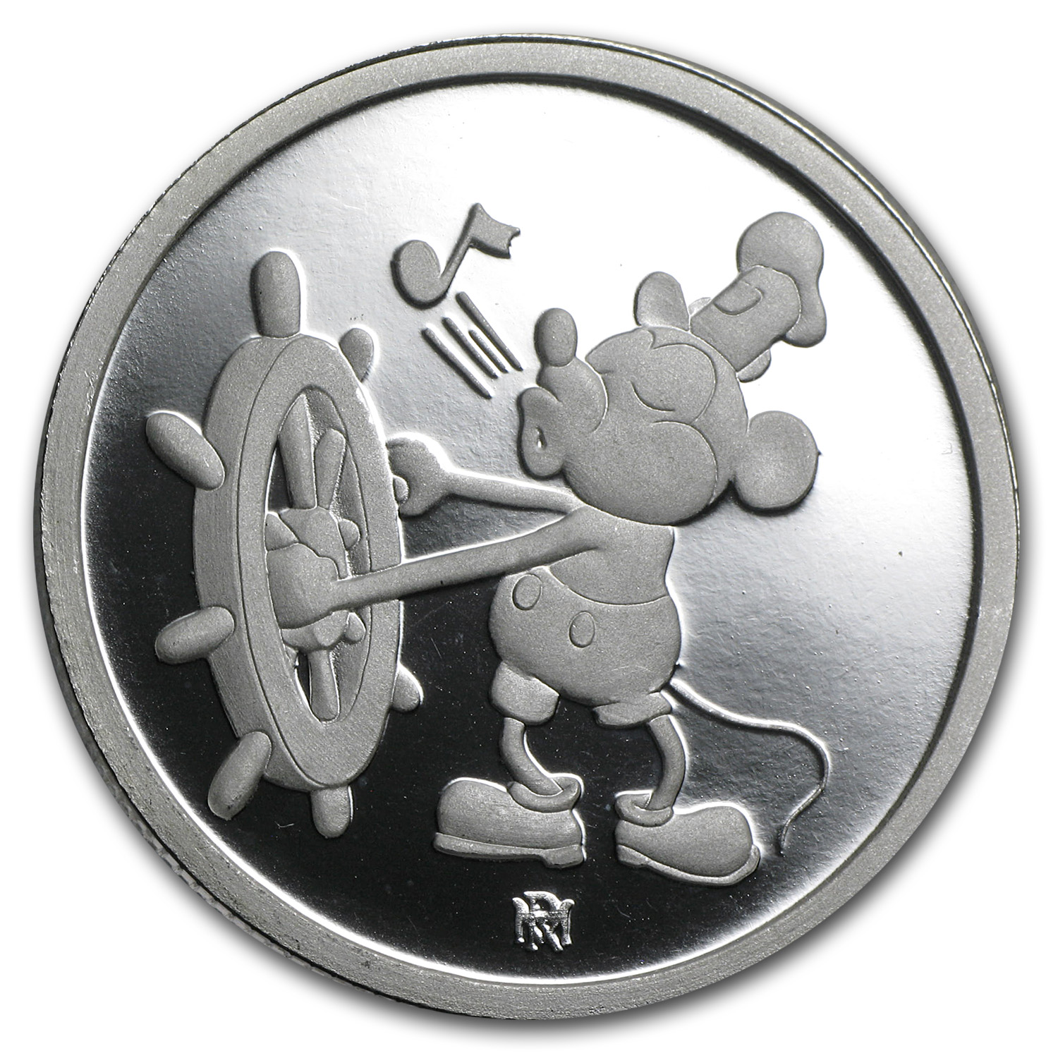 1 oz Silver Round - Mickey Mouse 60 Years (Proof)