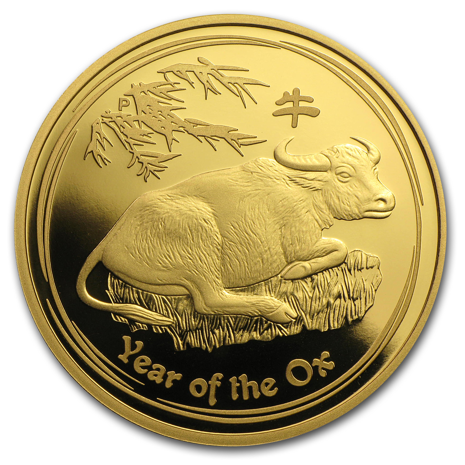 2009 Australia 1 oz Gold Lunar Ox Proof (Series II)