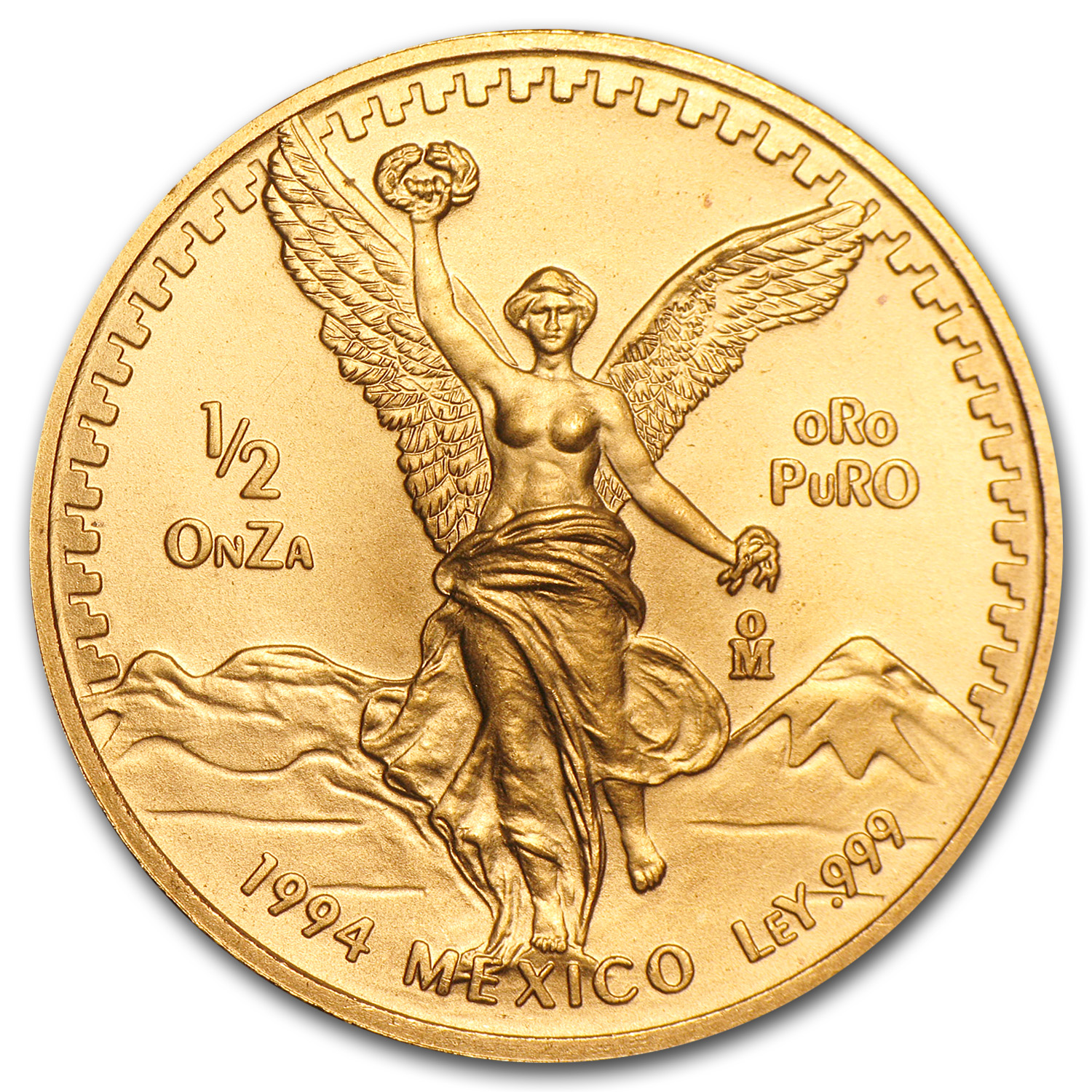 1994 1/2 oz Gold Mexican Libertad (Brilliant Uncirculated)