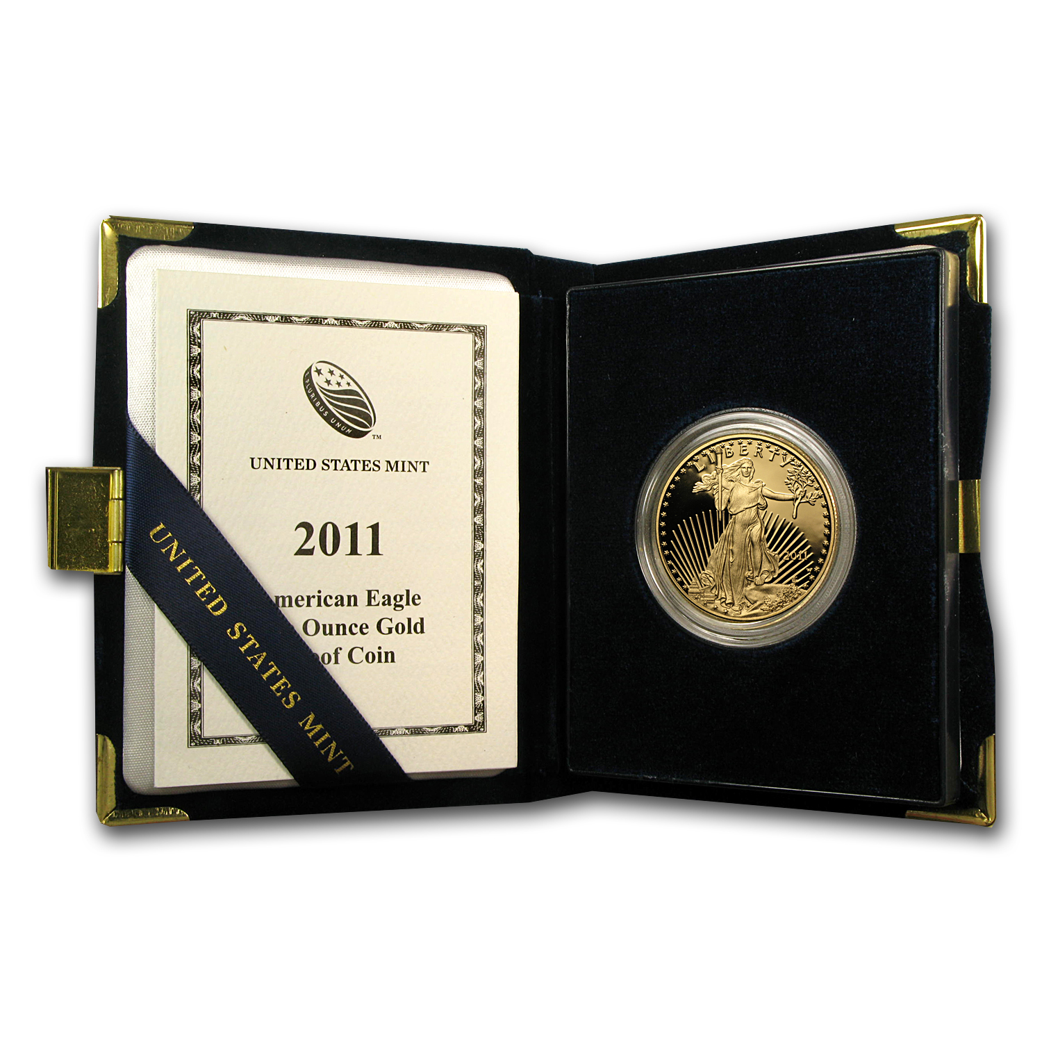 2011-W 1 oz Proof Gold American Eagle (w/Box & COA)