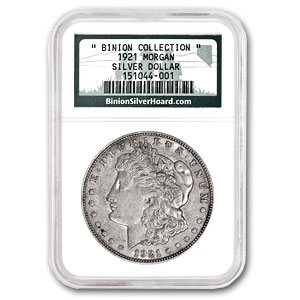 1921 Morgan Dollar - NGC - Certified From the Binion Collection