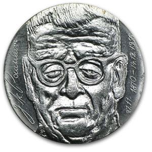 1970 Finland Silver 10 Markkaa President Paasikivi Bu