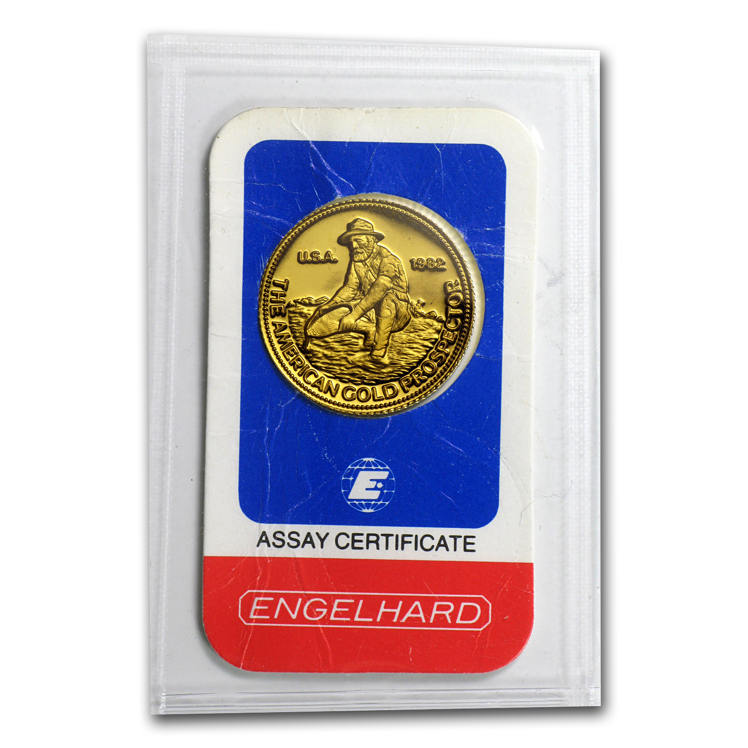 1/4 oz Gold Round - Engelhard (Prospector, In Assay)