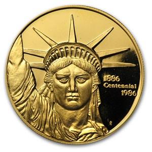 1 Oz Gold Round Engelhard Liberty Trade Engelhard