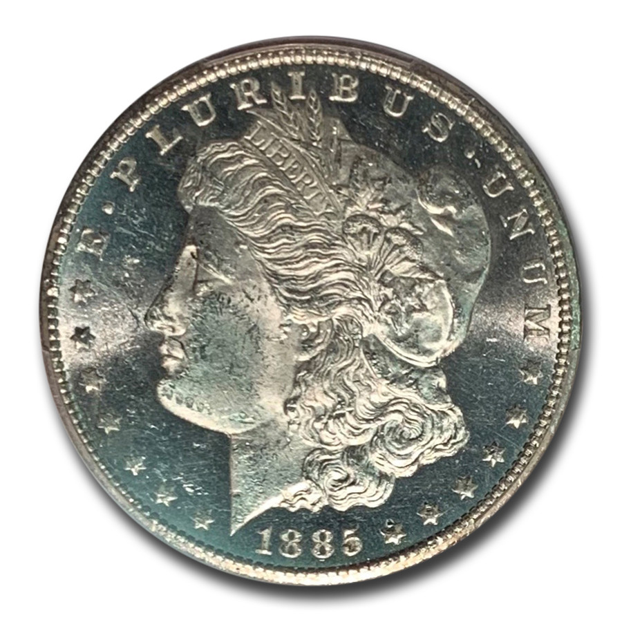 1885-CC Morgan Dollar - MS-62 DMPL Deep Mirror Proof Like PCGS