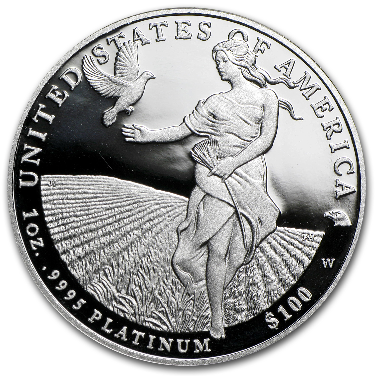 2011-W 1 oz Proof Platinum American Eagle (w/Box & Coa)
