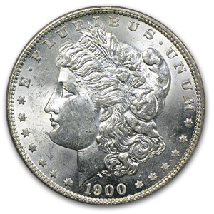 1900-O/CC Morgan Dollar - Brilliant Uncirculated Top-100 VAM