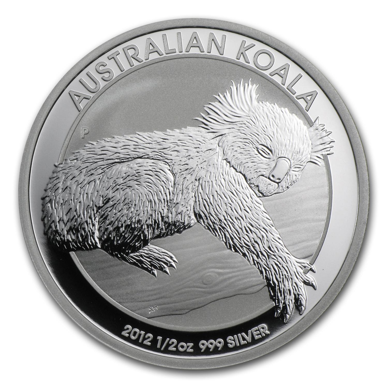 2013 Australia 1 2 Oz Silver Koala Bu Perth Mint Koala