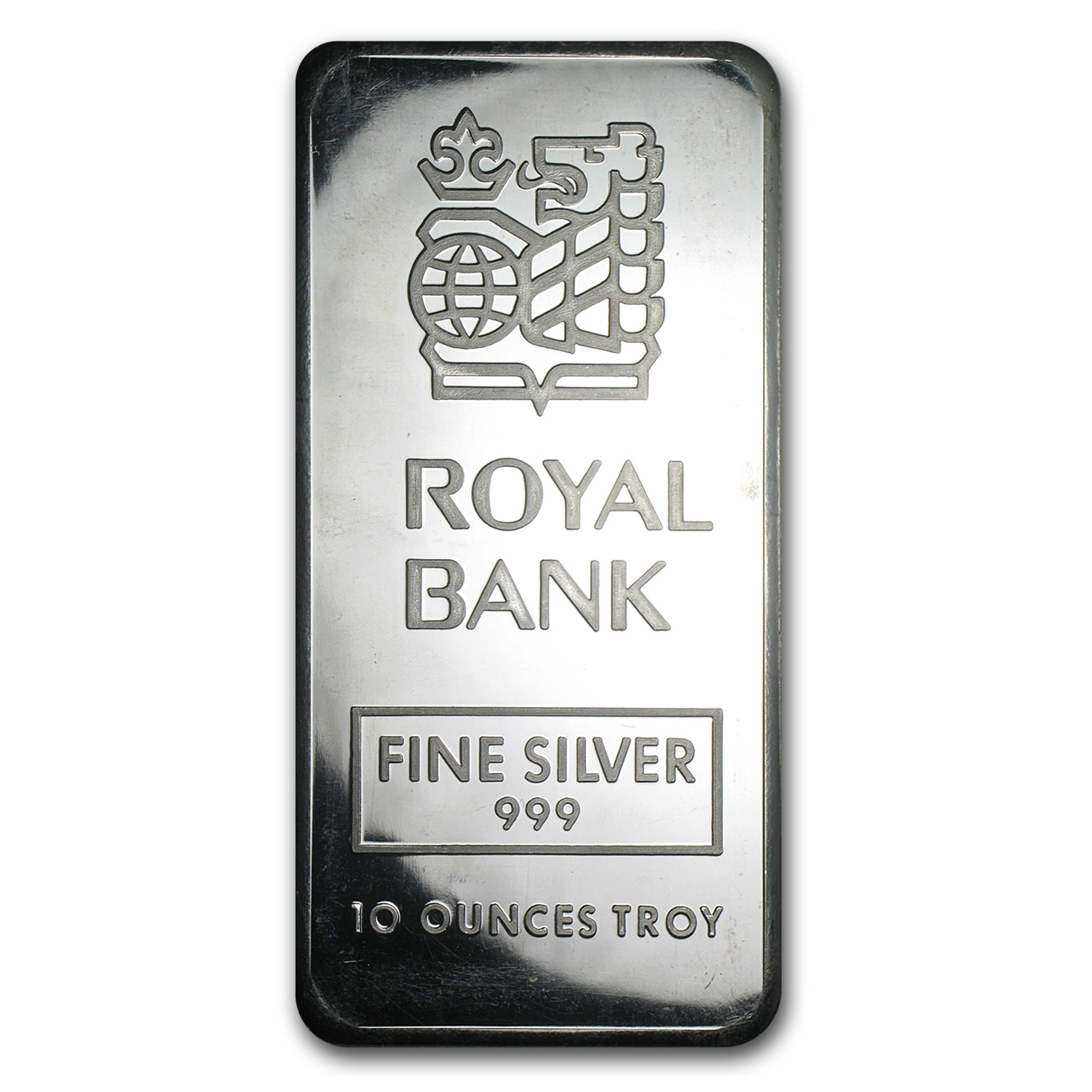 10 Oz Silver Bar Johnson Matthey Royal Bank Of Canada