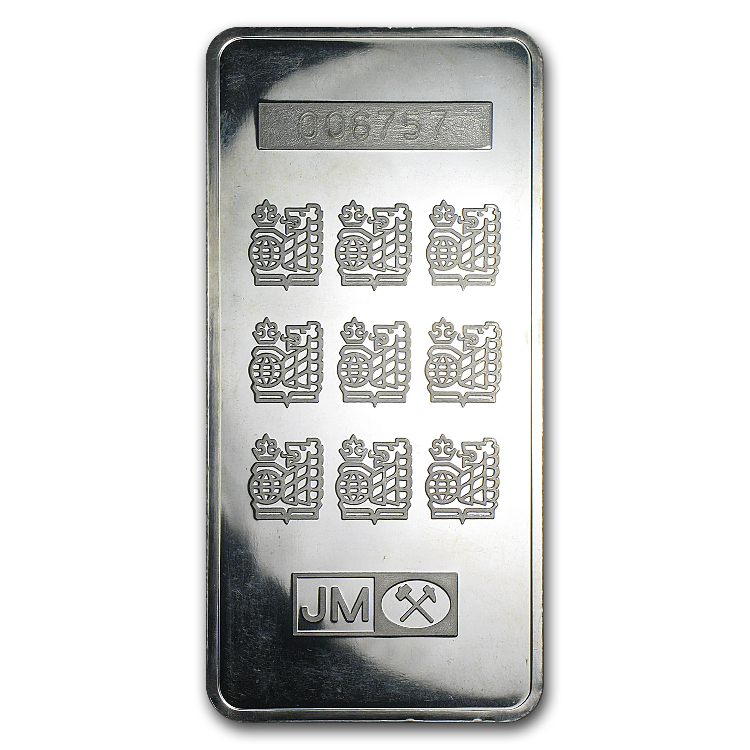 10 oz Silver Bar - Johnson Matthey (Royal Bank of Canada)