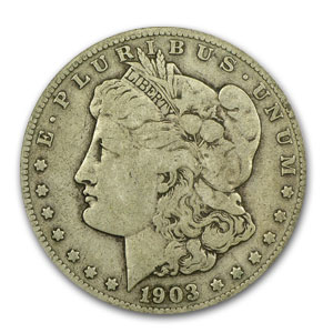 1903-S Morgan Dollar - Fine-15 PCGS VAM-2 Micro-S Top-100