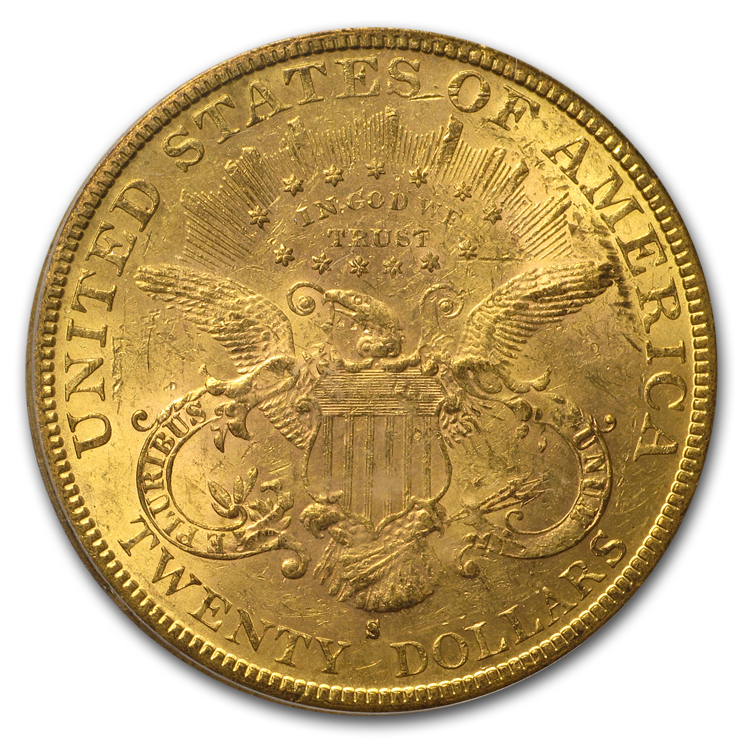 1882-S $20 Gold Liberty Double Eagle - MS-62 PCGS