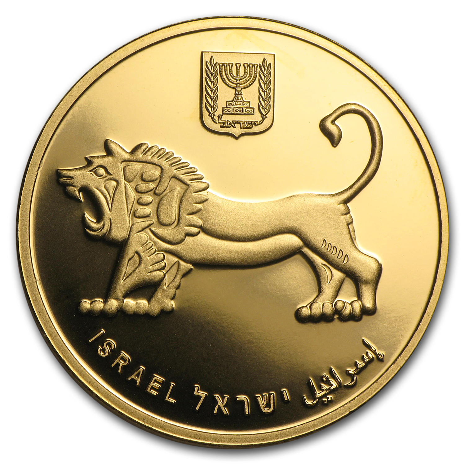 2011 Israel 1 oz Gold Western Wall BU