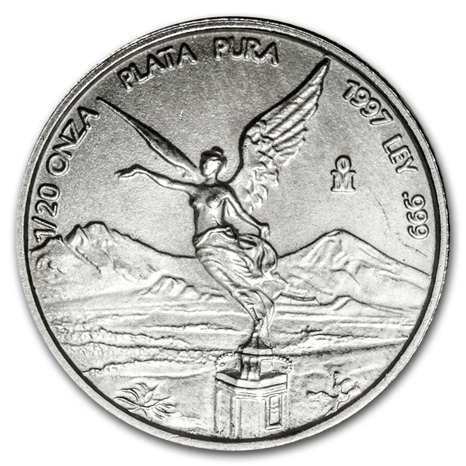 1997 1/20 oz Silver Mexican Libertad (Brilliant Uncirculated)