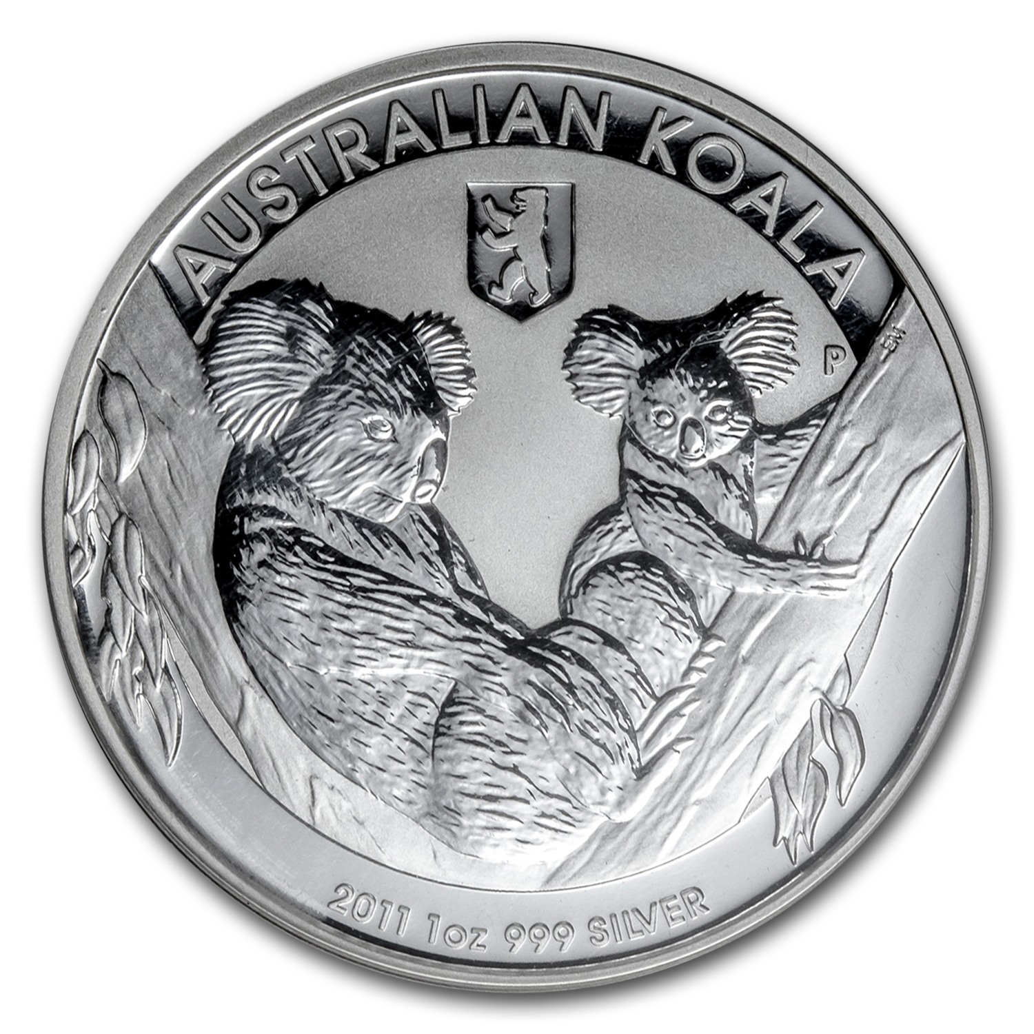 2011 1 oz Silver Australian Koala with Berlin Privy