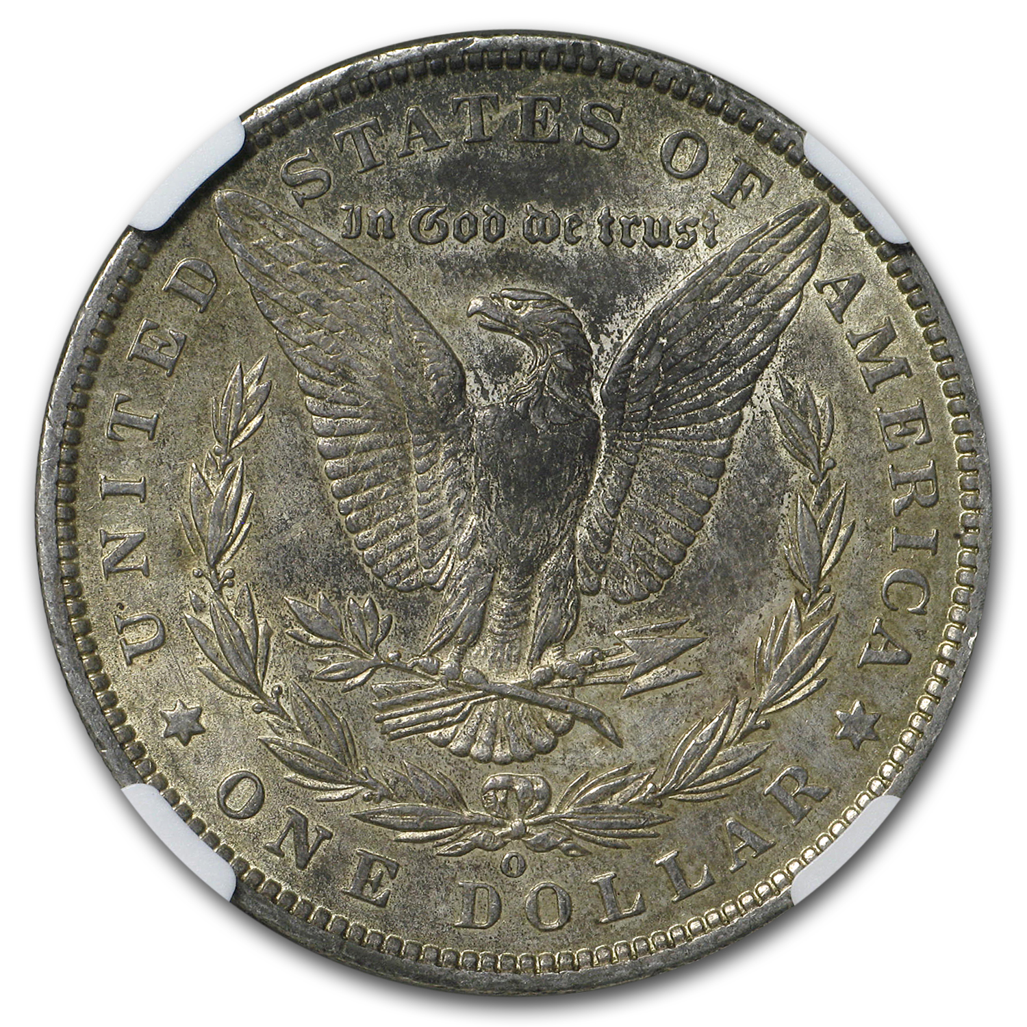 1886-O Morgan Dollar AU-53 NGC