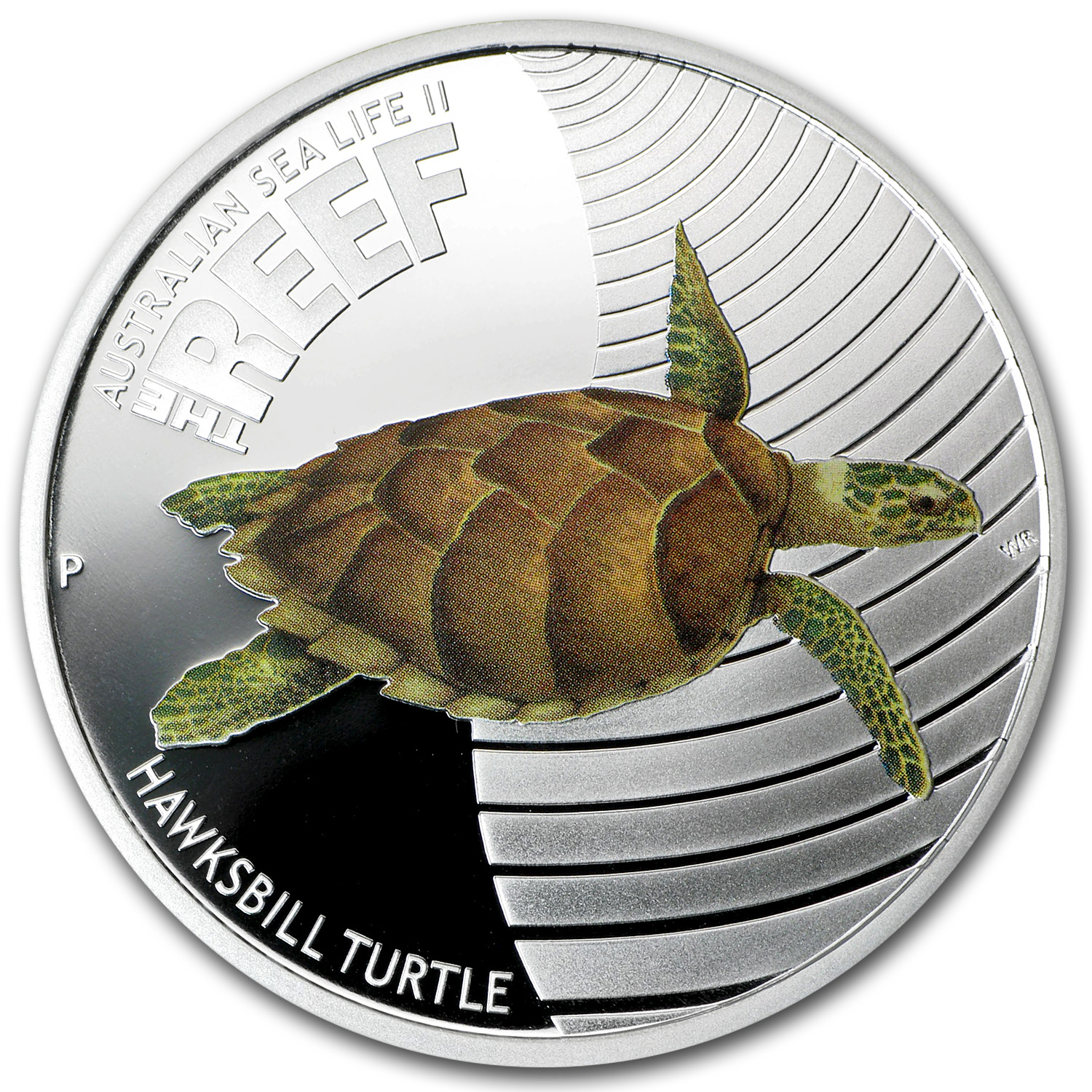 2011 Australia 1/2 oz Silver Hawksbill Turtle Proof