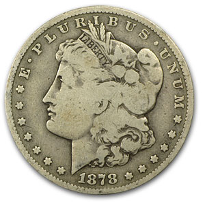 1878-S Morgan Dollar VG (VAM-27, Long Nock, Top-100)
