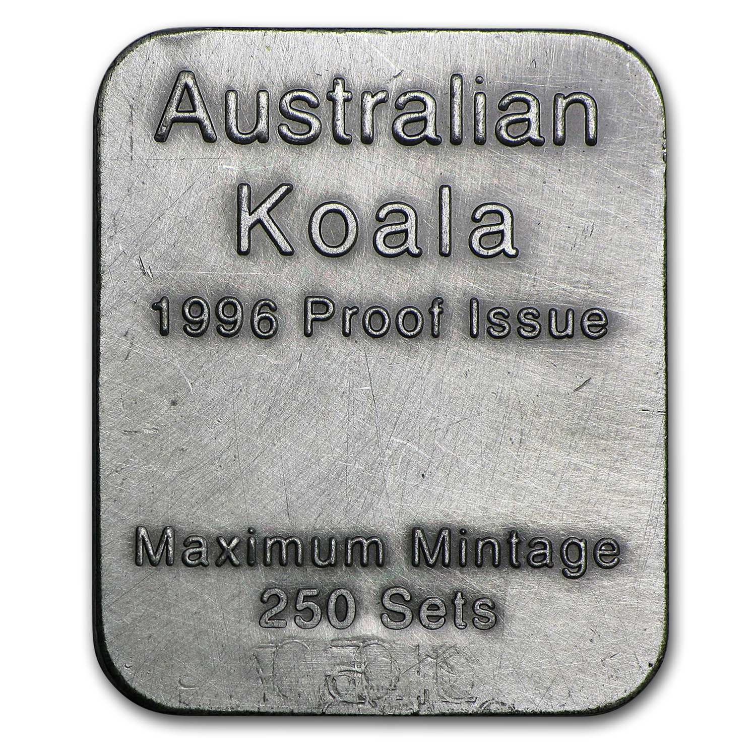 1996 Australia 1/2 oz Proof Platinum Koala