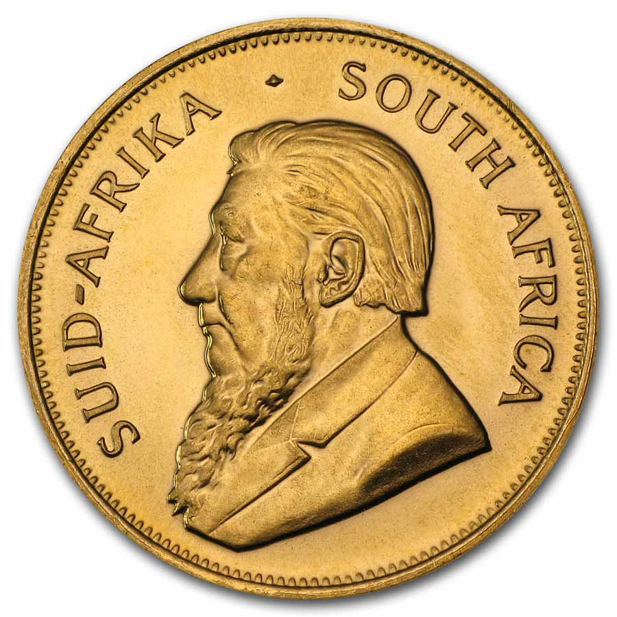 1 oz Gold South African Krugerrand - Random Year