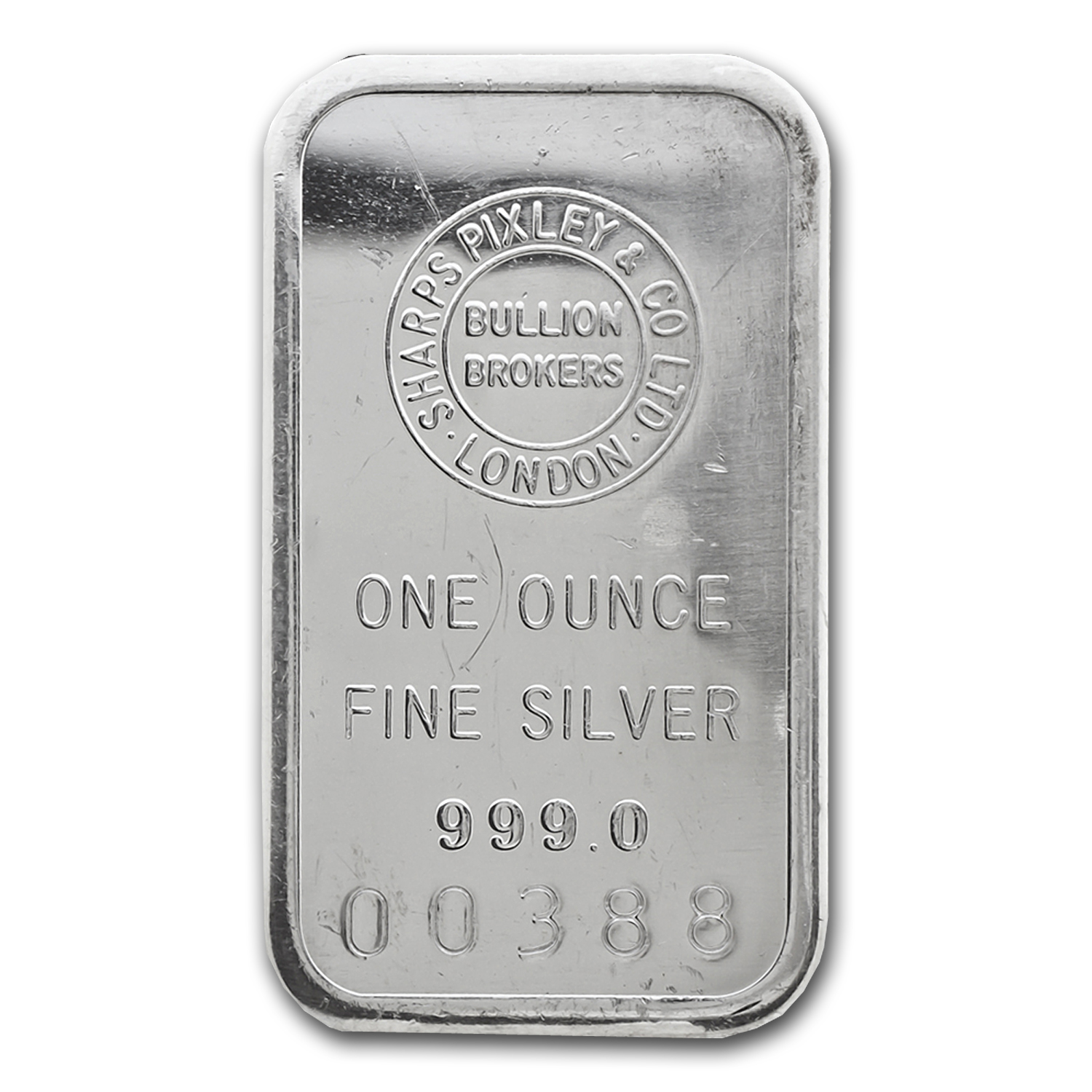 1 oz Silver Bar - Sharps Pixley & Co LTD