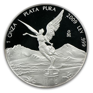 2009 Mexico 1 oz Proof Silver Libertad PR-70 PCGS