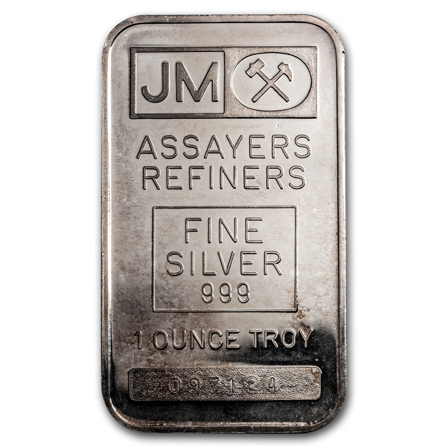 1 oz Silver Bars - Johnson Matthey (Plain Back)