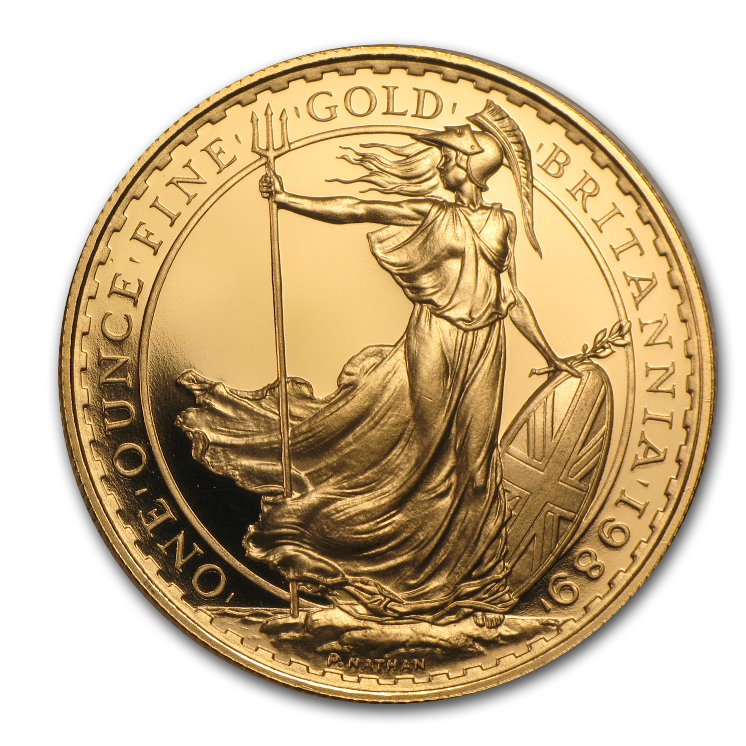 1989 Great Britain 1 oz Gold Britannia Proof