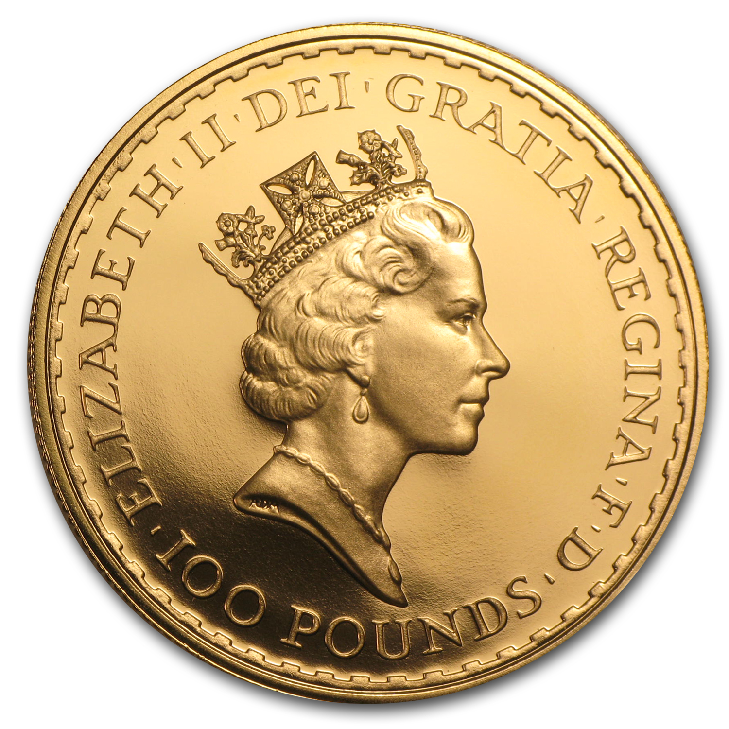 1989 Great Britain Proof Gold 1 oz Britannia