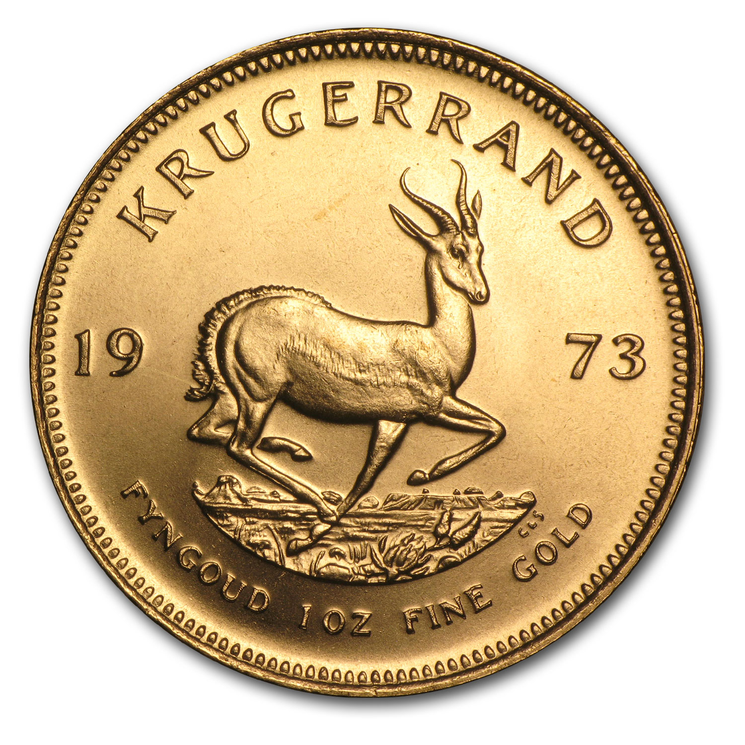 1973 1 oz Gold South African Krugerrand