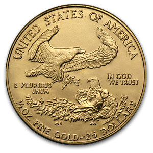 1986 4-Coin Gold American Eagle Set (BU)